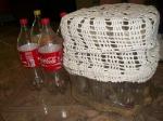 Artesanato a partir materiais recicláveis.